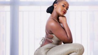 Look, it's real, ANYANGO strips down to bikini to prove to starved hyenas that her BOOTY is 100% natural (PHOTOs)