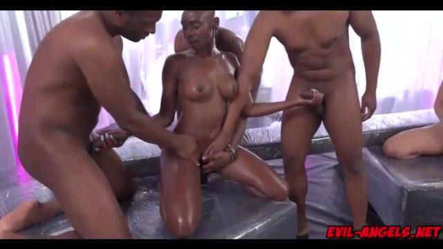Afro Porn Star Zaawadi Orgy Porn Video